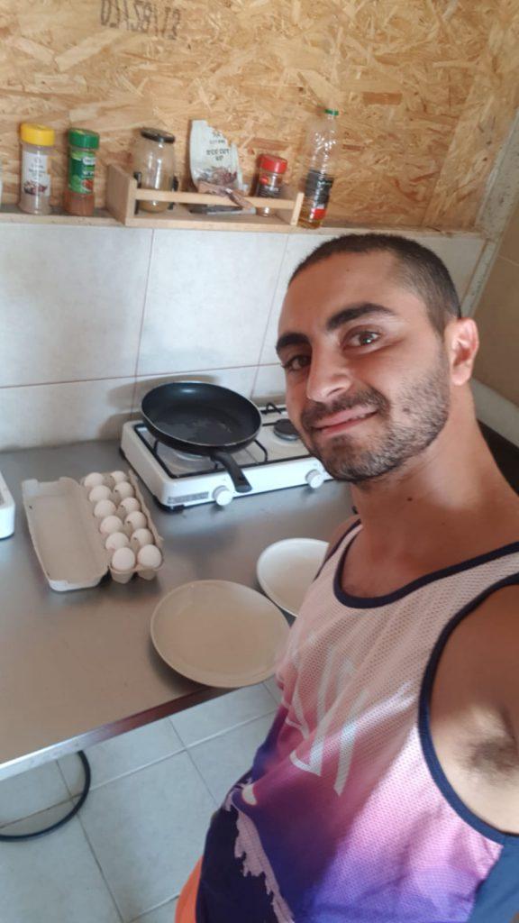 מטבח מאובזר - כלמא במדבר עין יהב